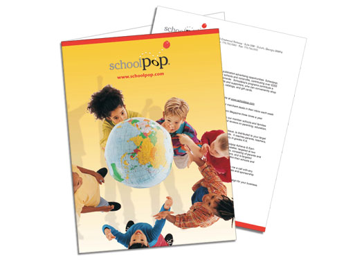 Schoolpop Pocket Folder