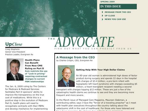 EvergreenRE Advocate